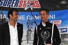Roberto Ravaglia firmato Team BMW serie ITALIA SUPERSTARS Ritratto 2012