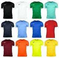 Nike Boys Park VII T-Shirts Sports Football Gym Kids Training Top DRI-Fit Jersey