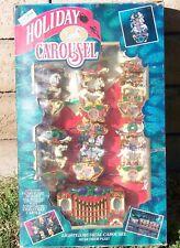 Mr Christmas HOLIDAY CAROUSEL Calliope and Six Circus Horses - 21 Carols