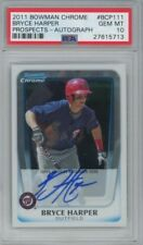MLB LOTS - GUARANTEED BOWMAN CHROME AUTO - 5 Cards - Prospect/HoF HOT PACK$