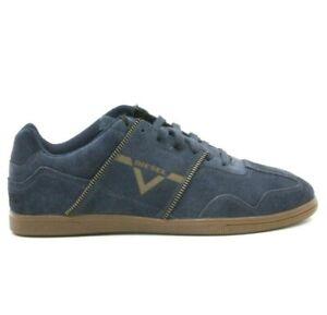 DIESEL Zip Luxx Mens Suede Low Top Fashion Sneaker Blue Iris Size 7.5 New