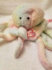 Ty Beanie Buddy GOOCHY The Ty-Dyed Jellyfish MWMT  Retired