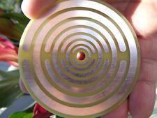 Teslaantenne Zubehör die Oszillator-Platte 8 cm x 2 mm Kraft, Schutz Elektrosmog
