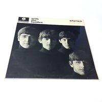 The Beatles 'With The Beatles' 1976 UK Vinyl LP Factory Promo VG++ Nice Copy!