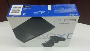 BRAND NEW Sony PlayStation 2 Slim Console Black PS2 System Game (NTSC)