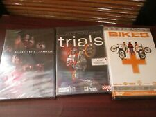 Bikes DVD Set of Three - Basically Bikes, World indoor Trials, Open Road (NEW)
