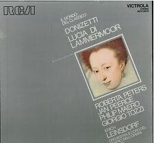 Donizetti: Lucrezia Borgia / Leinsdorf, Peters, Peerce, Maero, Tozzi - LP Rca
