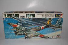 REVELL MODELS KAWASAKI TORYU JAPANESE WWII AIRPLANE, 1:72, JAPANESE ISSUE BOX #2