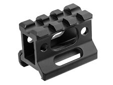 "UTG Super Slim See-Thru Picatinny 1"" Riser Mount for Red Dot 1/3 Co-Witness"