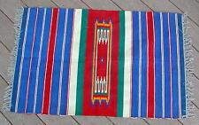 """Vintage Southwest Design """"Wool"""" Rug w/Fringe 42"""" x 27"""""""