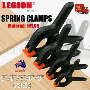Nylon Spring Clamps Quick DIY Tools Grip Plastic Clips Photography Woodworking