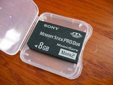 8GB Memory Stick Pro Duo for Sony Cyber HandyCam DCR-SR45
