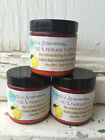 3 oz Natural Remineralizing  Whitening Tooth Powder, Lemon with Frankincense