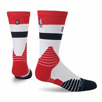 New Official Stance Fusion NBA Basketball Socks sz Large 9-12 Washington Wizards