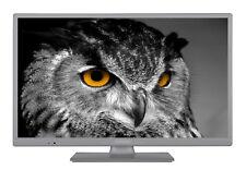 Telefunken XH24D101 LED Fernseher 24 Zoll 61 cm TV HD ready Triple-Tuner grau