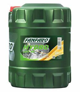 20L Fanfaro Hydrauliköl HLP Hydro ISO 46 Industrie Öl Mineralöl Schmiermittel