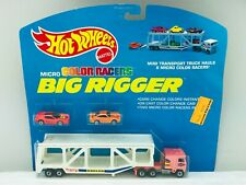 Hot Wheels Blackwall BIG RIGGER Micro Color Racers #3989 NEW ON CARD BLISTER BP