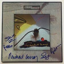 "Modern English Autographed ""Ricochet Days"" Vinyl Recored Album  COA"