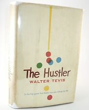 The Hustler by Walter Tevis, 1959 -- 1ST Edition, SIGNED BY AUTHOR