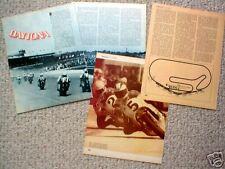 Old DAYTONA (200) MOTORCYCLE Racing Article/Photo's