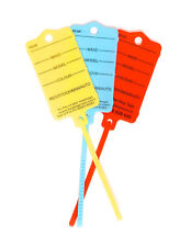Car Key Tags x 50 To Identify your Vehicles.Car,Caravan,Commercial,Motorcycle!!