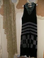Stunning Hebbeding~Quirky Design Lagenlook Fine Knit Mohair Maxi Dress~BNWT £260