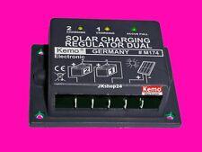KEMO M174 DUAL SOLAR LADEREGLER Voltaik-Solarladeregler 12V/16A | 1-2 Akku 12 V