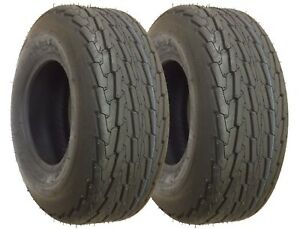 2 New Trailer Tires 20.5x8-10  20.5x8.0-10 10PR Load Range E - 11045