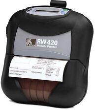 RW420 Mobile Thermal Printer BLUETOOTH R4D-0UBA000N-00 + nice used battery +