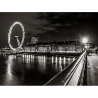 Large Poster London Black /& White and Colour Quality wall Art Print 610x900mm