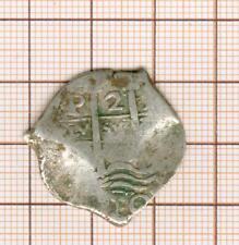 a22  espana 2 reales , date à déterminer (partiellement visible)