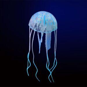 Glowing Effect Aquarium FLOATING JELLYFISH Jelly Fish Tank Ornament Decor