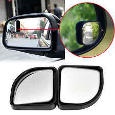 Car Fan Shape Convex Rear View Mirror Blind Spot Wide Angle Auxiliary Adjust Kit