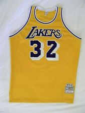 Mitchell Ness M&N Authentic LA Los Angeles Lakers Magic Johnson jersey sz 48 XL