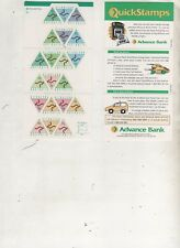 Australian Stamps Mint 1994 45c Triangle Advance Bank $9 face