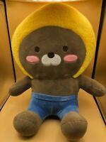 Large Kakao Little Friends Jay G Plush Soft Stuffed Toy Doll Mole South Korea