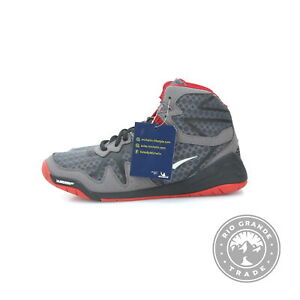 NEW Everlast Men's PIVT Low Top Sport Boxing Shoes in Gray / Red - 10 US