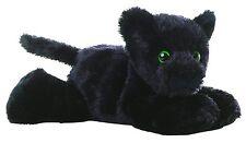 "Aurora Onyx BLACK PANTHER 8"" Flopsie Plush Floppy Stuffed Animal Toy NEW"