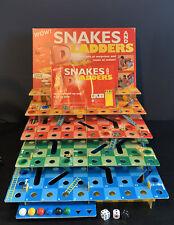 Rare Vintage 3d Snakes & Ladders Game Peri Spiele Perner Publishing Group 1998