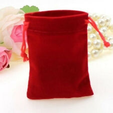 10Pcs Velvet Bags Favor Wedding Pouches Jewelry Packaging Gift Bags 7cm*5cm Fine