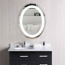 LUVODI Oval Large LED Light Anti-Fog Wall Mounted Mirror Vanity Dimmable Mirror