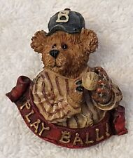 """Play Ball"" Numbered 26141 Hat Vl-V Classic Pin Brooch Boyds Bearwear Collection"