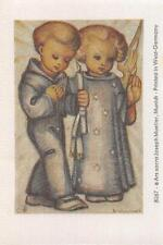 "RARITÄT Original Hummel Bilder auf echter Seide gedruckt Ars sacra Verlag ""1090"""