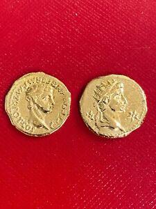 Rare Caligula Gold Aureus Coin struck AD 37-41