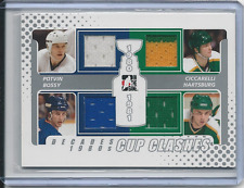 Bossy, Potvin & MORE 10-11 ITG Decades 1980s Cup Clashes JSY Silver Card# CC-02