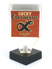 1960s California Lucky Continental Dark Beer 3¾ inch Acrylic Tap Tavern Trove