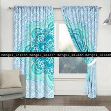 Indian Lots Floral Drapes Hanging Cotton Mandala Bohemian Window Balcony Curtain