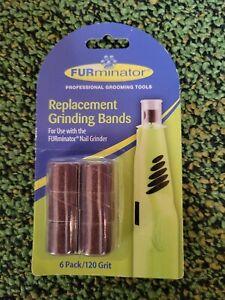 FURminator Nail Grinder Replacement Bands, 6-Count
