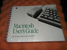 Macintosh user's guide for desktop computers SEALED