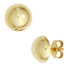 Echter Edelmetall-Ohrschmuck ohne Steine aus mehrfarbigem Gold für Damen
